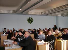 26 січня 2011р Навчальний семінар голів міських, районних профспілкових організацій Профспілки працівників освіти і науки Ураїни
