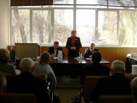 9 лютого 2011р Семінар-нарада голів профспілкових організацій ВНЗ І-ІV рівнів акредитації